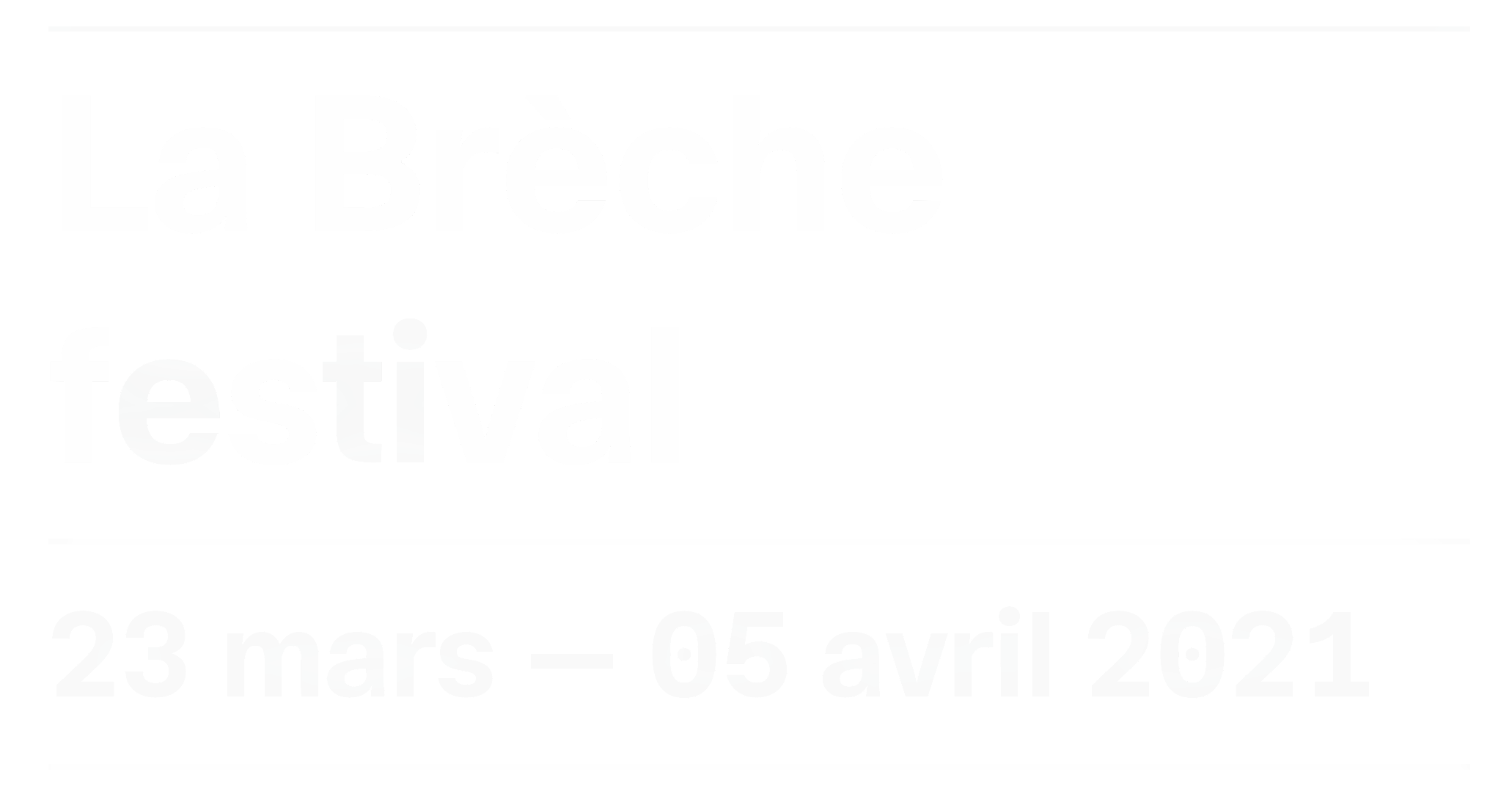 La Brèche festival